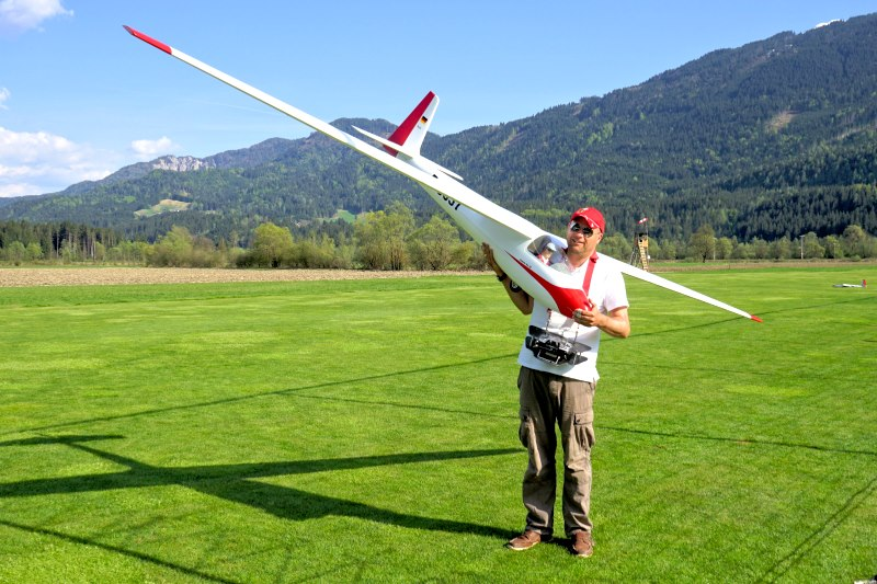 Model flying Glocknerhof