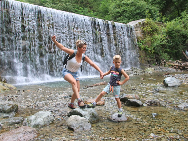 Water adventure path Greifenburg - a great hiking experience for families