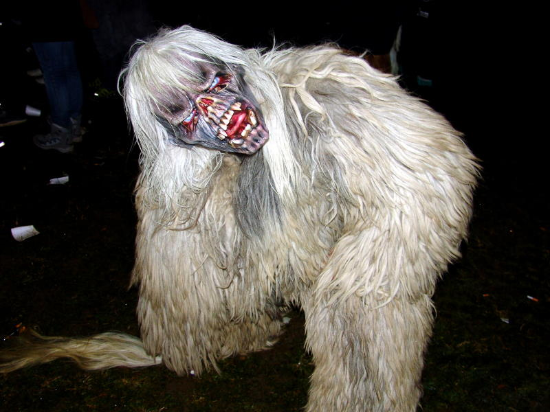 Perchten, Krampus