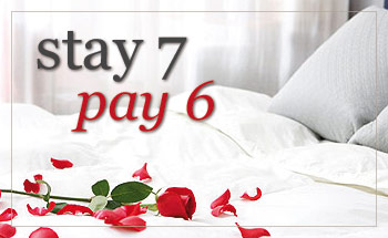 Stay 7 nights, pay 6 nights