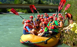 Rafting on the River Drau - Start in Oberdrauburg - Come on!